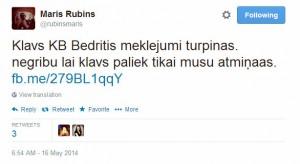 Twitter  rubinsmaris Klavs KB Bedritis meklejumi ... - Google Chrome 16.05.2014. 92935