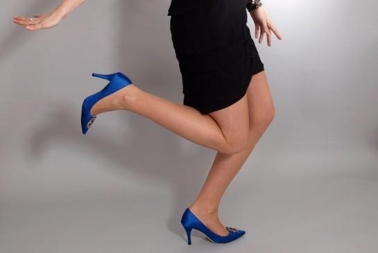 sievietes kājas