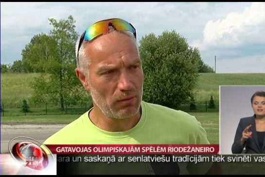 VTV/LTV: Gatavojas Olimpiskajām spēlēm Riodežaneiro
