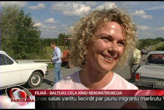 LTV: Filmā – Baltijas ceļa kino rekonstrukcija